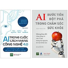 Combo 2 Cuốn Sách Nâng Cao Sức Khỏe Trong Mùa Dịch Nhờ Ứng Dụng AI