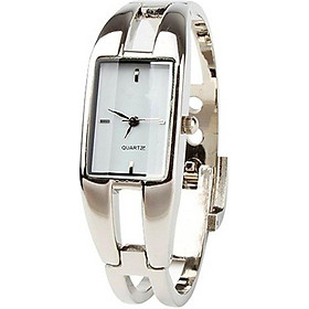Elegant Fashion Square Lady's Women's Bracelet Bangle Wrist Quartz Watch