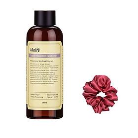 Nước hoa hồng Dear Klairs Supple Preparation Facial Toner 180ml - Tặng kèm dây cột tóc dễ thương màu ngẫu nhiên