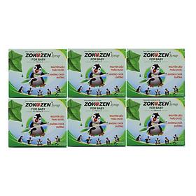 Combo 6 hộp Thực phẩm bảo vệ sức khỏe Thảo dược giảm ho cho trẻ em ZOKOZEN SYRUP FOR BABY