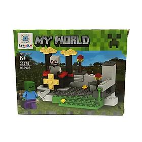 Bộ Xếp Hình - My World - 33275 - LK52 - Mẫu 3