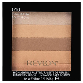 Revlon Blush Highlighting Palette Peach Radiance