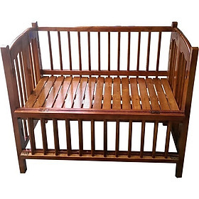 Cũi gỗ quế cho bé 002 (100 x 68 x 80 cm) - Cánh gián