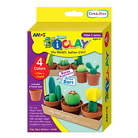 Bộ đất chơi đất nặn AMOS I CLAY MINI FASHION SHOP KIT IC4CBMC
