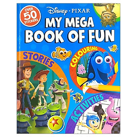Disney Pixar: My Mega Book of Fun (My Mega Book of Fun Disney)