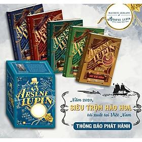 Tiểu thuyết trinh thám - Arsène Lupin - Siêu Trộm Hào Hoa - Boxset (trọn bộ 5 cuốn)