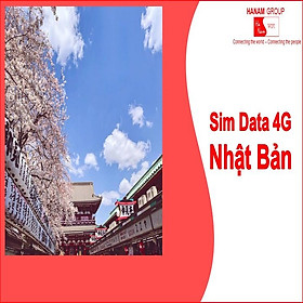 Sim Data 4G Nhật Bản Không Giới Hạn Dung Lượng
