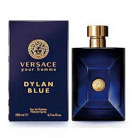 Nước Hoa Nam Versace Pour Homme Dylan Blue - Eau De Toilette (200ml)