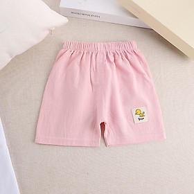Quần đùi cho bé trai, bé gái, vải 100% cotton thoáng khí hàng QuangChau KIZICIZY QATE28