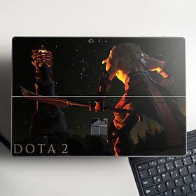 Skin dán hình Dota 2 x06 cho Surface Go, Pro 2, Pro 3, Pro 4, Pro 5, Pro 6, Pro 7, Pro X - Mã: dot036 - Surface Pro X
