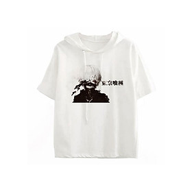 Áo Hoddie Cộc Tay Tokyo Ghoul Kaneki