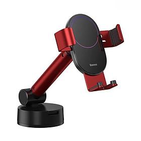 Bộ giá treo điện thoại dùng gắn kính hoặc táp lô trên xe hơi Baseus - LV848 [Hàng Chính Hãng]