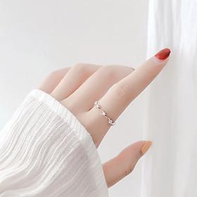 Nhẫn nữ S925 đính đá ngôi sao