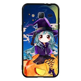 Hình đại diện sản phẩm Ốp lưng Halloween viền TPU cho điện thoại Samsung Galaxy J3 2016 - Mẫu 04