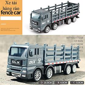 Đồ chơi mô hình xe tải hàng rào KAVY No.8807 nhựa an toàn chi tiết đẹp