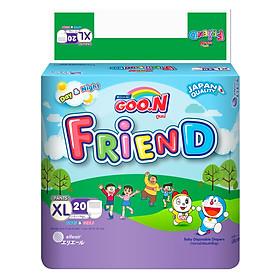 Tã Quần Goo.n Friend Gói Đại XL20 (20 Miếng)
