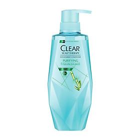 Combo Dầu Gội Và Dầu Xả Clear Làm Sạch Da Đầu Nhờn Và Ngăn Gàu Công Thức Micellar (380ml/Chai)-2