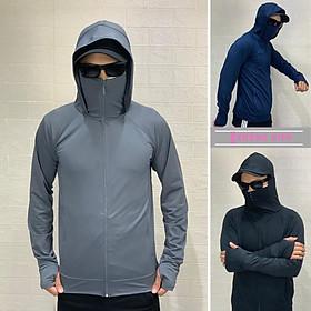 Áo chống nắng nam chống tia UV, thông hơi,thoáng mát-AN1L