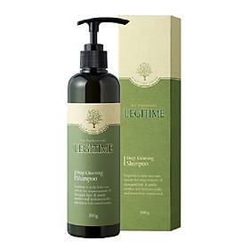 Dầu gội thảo dược ngăn ngừa  gàu dành cho tóc dầu ngăn rụng tóc sạch gàu và hết ngứa legitime deep cleansing shampoo 300g
