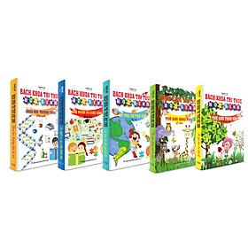 Combo Tủ sách kỹ năng cho bé - Trọn bộ Bách khoa tri thức học sinh (5 cuốn)