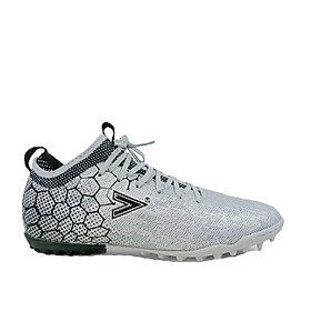 Giày đá bóng, giày sân cỏ nhân tạo Mitre 181045 mẫu mới phù hợp với bề mặt sân cỏ nhân tạo, cực kỳ êm ái ôm chân hàng chính hãng màu bạc