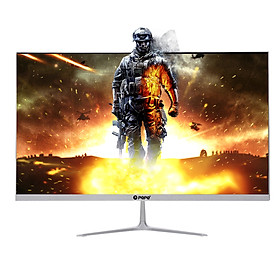 23.8 inch Monitor 1080P IPS Curved Screen Monitor 178° Viewing Angle Eye-caring Computer Display with VGA/HD Interface