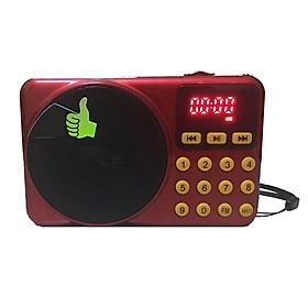 Đài FMn nghe nhạc thẻ nhớ, USB, có mặt Led hiển thị Klonda D-78E
