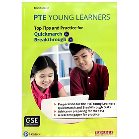 PTE Young Learners Quickmarch & Breakthrough Vietnam