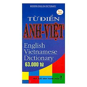 Từ Điển Anh - Việt 63.000 Từ