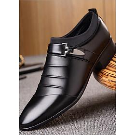 Giày tây nam cao cấp (đen) GN265
