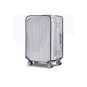 Trùm vali Bao hình lí nhựa trong suốt 20 - 24 -28 inch cao cấp F8