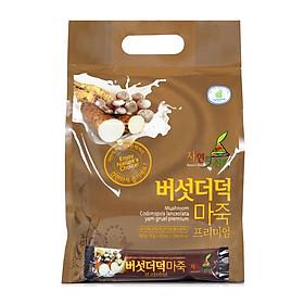 Bột ngũ cốc Hàn Quốc N-Choice nấm và đẳng sâm 960g - bao 32 gói x 30g / gói