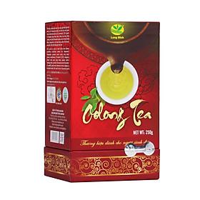 Trà Ô long Kim Tuyên Long Đỉnh (Hộp vuông đỏ 250 gram)