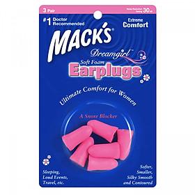 Hộp 3 đôi nút bịt tai cho Nữ Mack's Dreamgirl