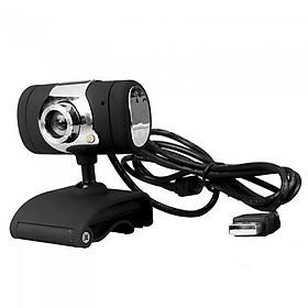 USB 2.0 Webcam Conference Cam HD Video Webcam Clip-on Camera With Microphone for Laptop Desktop