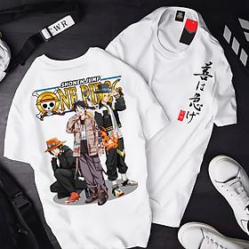 Áo One Piece Luffy ATT-05, Áo thun Anime Manga One Piece Monkey D. Luffy Unisex Nam Nữ