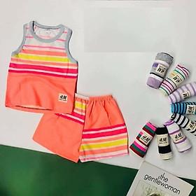 Combo 5 bộ đồ trẻ em mặc nhà ( giao màu ngẫu nhiên)