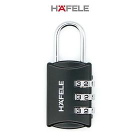 Khóa số Hafele 20302 màu đen - 482.09.000 (Hàng chính hãng)