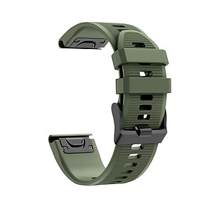 〖Follure〗Quick Release Silicone Replacement WatchBand Strap for Garmin Fenix 6/Fenix 6Pro
