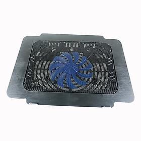 Đế tản nhiệt 11 cánh quạt làm mát laptop có đèn PKCB89 Đen - Hàng Chính Hãng