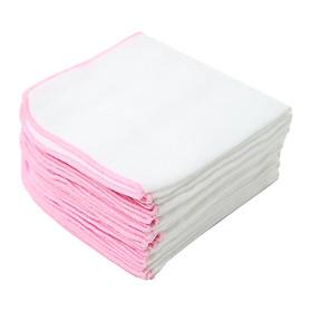 Khăn sữa hộp 4 lớp cho bé ( 25*27cm ) - hộp 10 cái