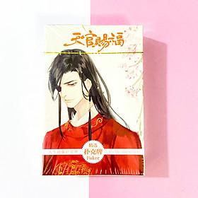 Bộ bài tú lơ khơ hình THIÊN QUAN TỨ PHÚC Hoa Thành Tạ Liên anime chibi