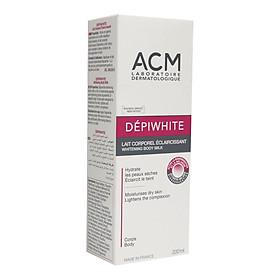 Sữa dưỡng thể làm trắng sáng da ACM Depiwhite Whitening Body Milk 200ml