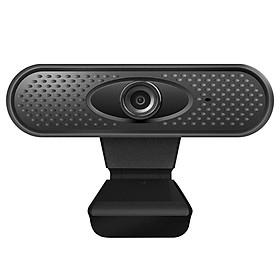 1080P HD USB Webcam Computer Web Camera Built-in Microphone Drive-free Web Cam for Laptop Desktop PC