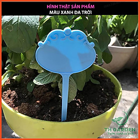 Thẻ Ghi Tên Cây Cao Cấp TH Garden - Tag Ghi Thông Tin Cây, Ghi Thông Tin Hoa - Loại Nhựa Rất Cứng Chất Lượng Cao