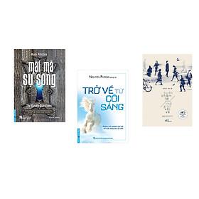 Combo 3 cuốn sách:  Mật Mã Sự Sống + Trở Về Từ Cõi Sáng + Bước chậm lại giữa thế gian vội vã  (Tái Bản)