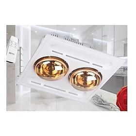 Đèn sưởi nhà tắm 2 bóng SP005