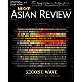 [Download sách] Nikkei Asian Review: Second Wave - 22.20 - Tạp chí kinh tế nước ngoài, nhập khẩu từ Singapore