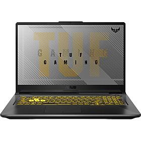 Laptop ASUS TUF Gaming A17 FA706IU-HX406T (AMD R7-4800H/ 8GB DDR4 3200MHz/ 512GB SSD M.2 PCIE G3X2/ GTX 1660Ti 6GB GDDR6/ 17.3 FHD IPS. 144Hz/ Win10) - Hàng Chính Hãng