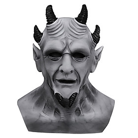 Rocky the Demon Headgear Demon Stone Latex Mask Independent Station Dark Bible King of Lies The sin of gray pride